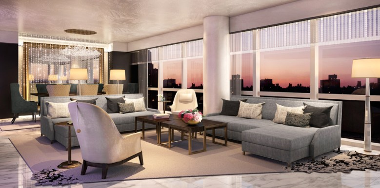 Suite 5000 – Mandarin Oriental, New York - Great Room