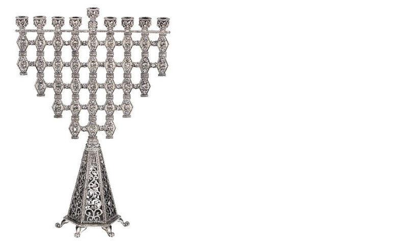 Ziva unique modern menorah