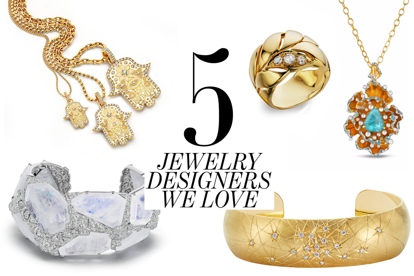 5 Jewelry Designers we love