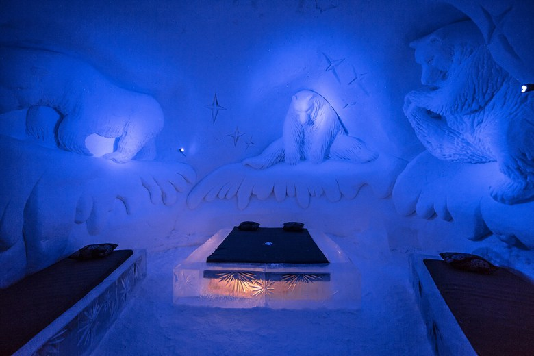 SNOWVILLAGE – Kittilä, Finland - Ice Hotel - Bear suites