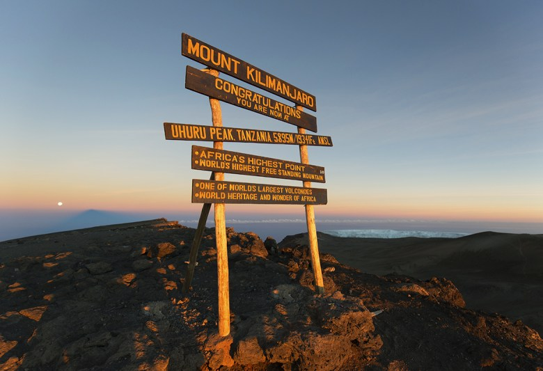 K2 Adventures Foundation - Uhuru Peak on Mount Kilimanjaro