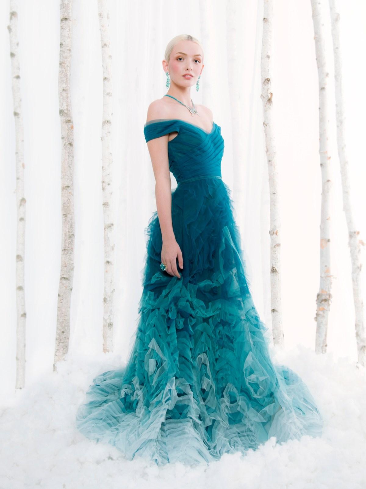 frozen fantasy winter fashion
