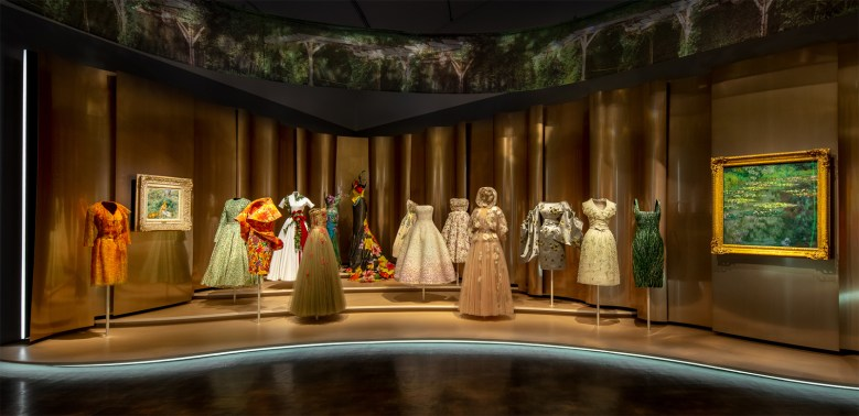 Dior From Paris to the World - Denver Art Museum - Period dresses
