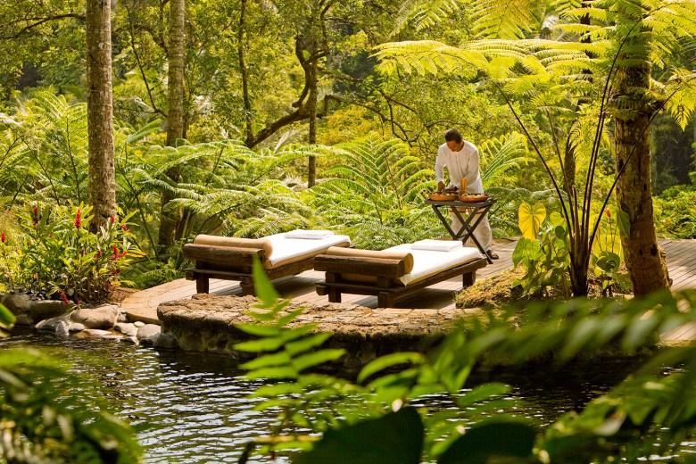 COMO-SHAMBHALA-ESTATE Bali, Indonesia - Como outdoor massage tables