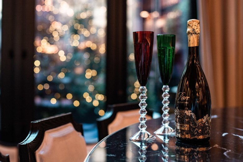 Baccarat Hotel Champagne New York