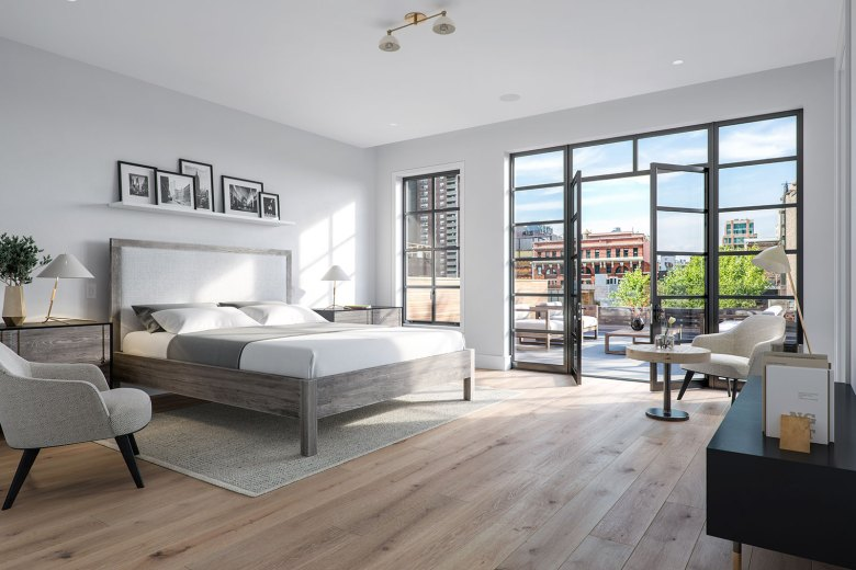 15 Jay Street in Tribeca NYC - Bedroom