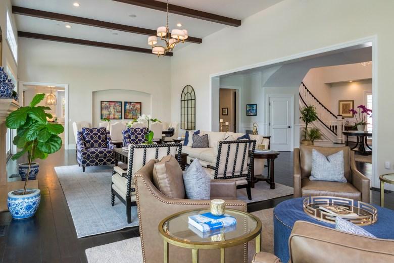 Interior designer Courtney Thomas - Living Room