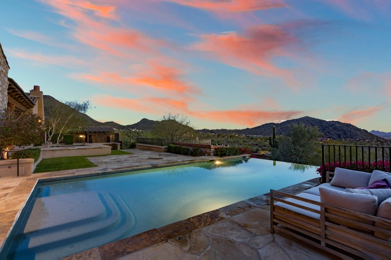 custom Silverleaf home Scottsdale Az