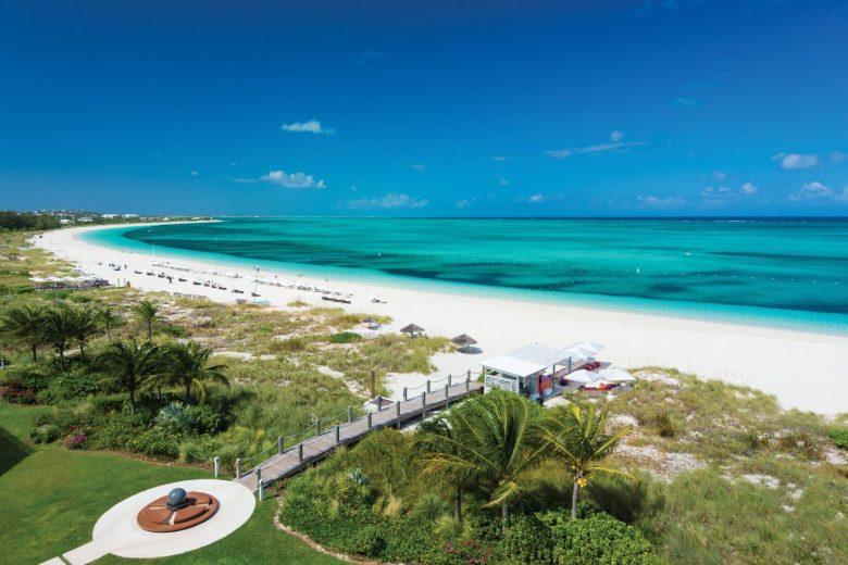 The Grace Bay Club Beach Turks & Caicos