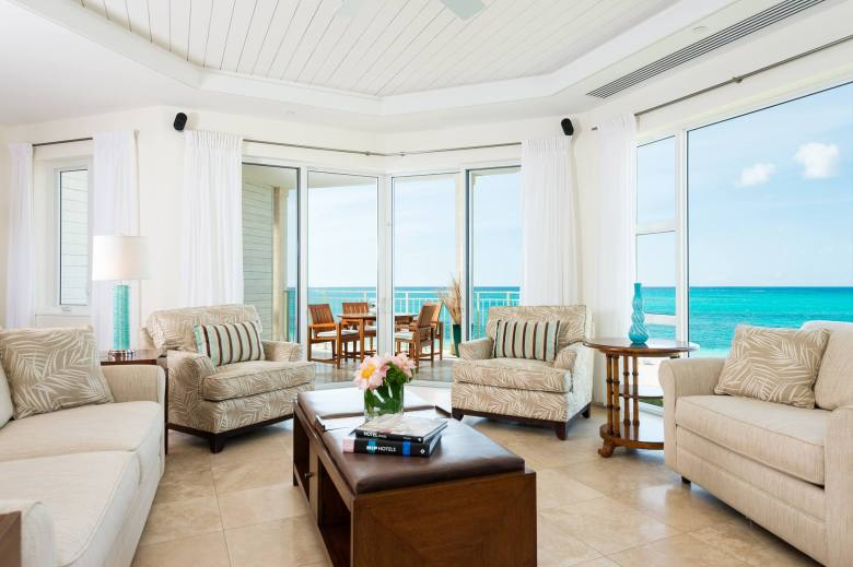 Luxury Travel at The Grace Bay Club Lobby Turks & Caicos