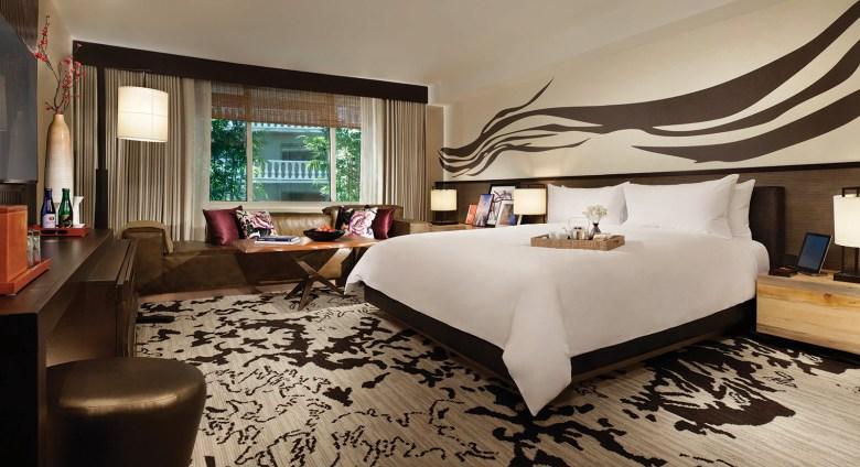 NOBU Las Vegas room