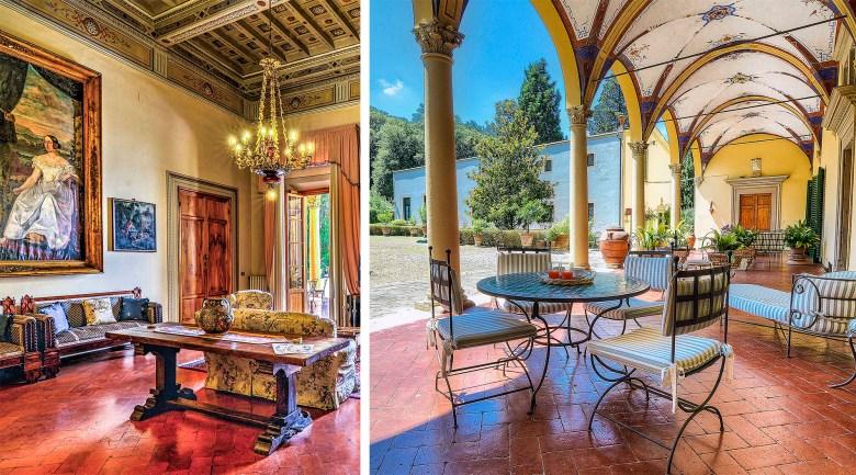 Villa Pandolfini historic home rental
