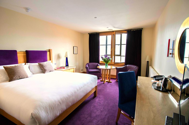 The Clarence hotel room