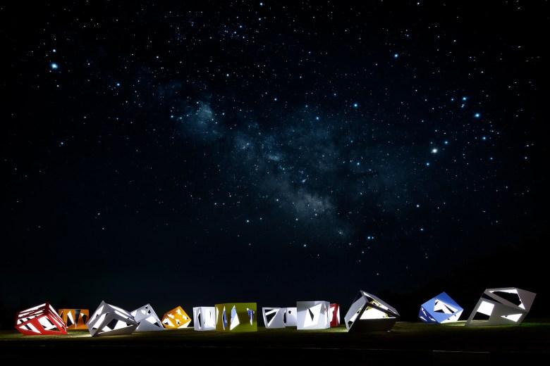 Moriyuki Ochiai Architects lifesize art