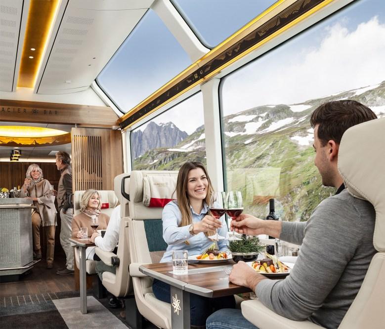 Glacier Express dinning