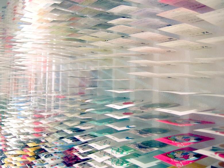 Moriyuki Ochiai Architects paper art