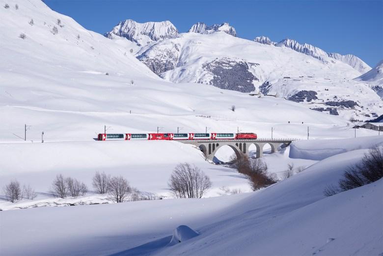 ober pass Glacier Express