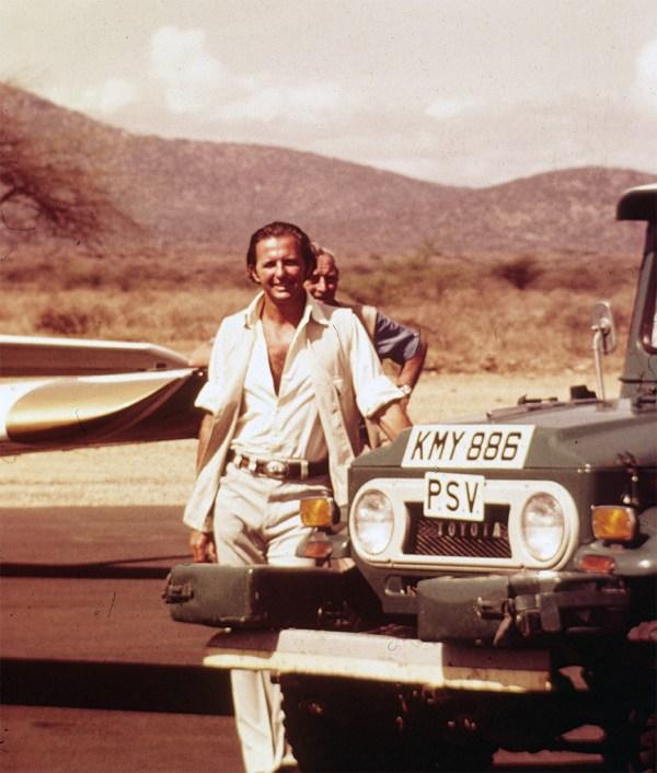 Geoffrey Kent in Kenya