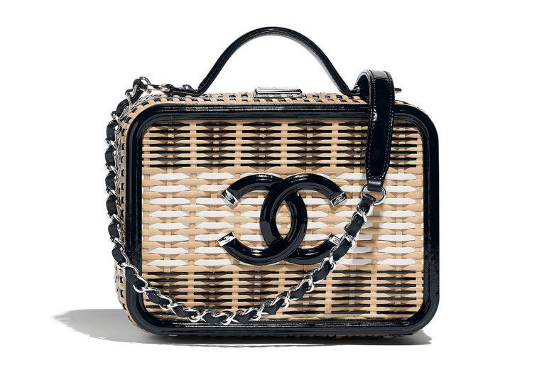 Chanel Rattan bag