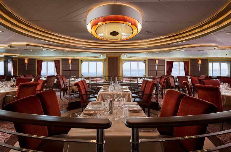 Silversea Cruises dining