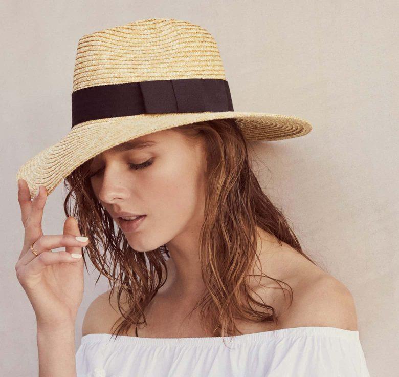 Rattan Straw-Hat