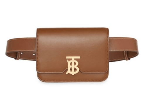Burberry leather belt bag