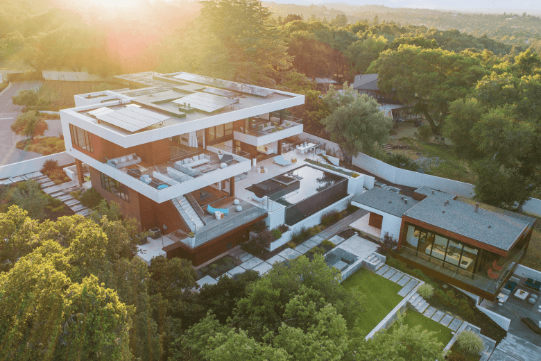Expansive Estate Designed by Robert Swatt of Swatt and Meirs Architects