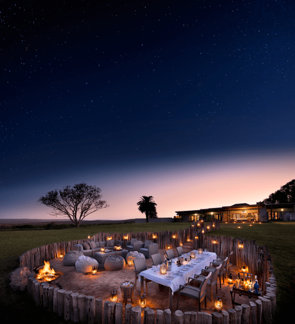 Wedding Reception at Kwandwe Great River Fish Lodge in South Africa
