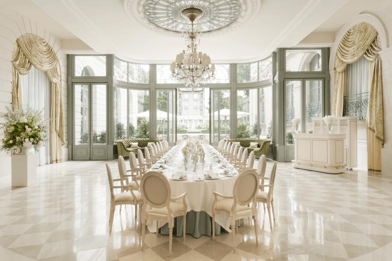 Beautiful Wedding Room at the Ritz Paris