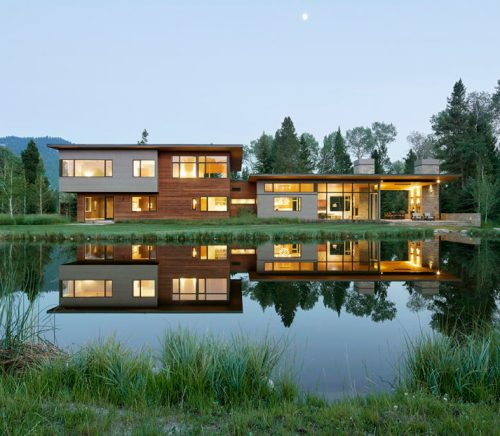 Jackson Hole Modern Home Design