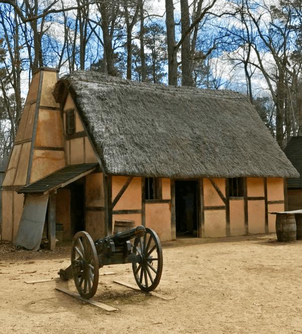 Historical Jamestown Settlement Williamsburg