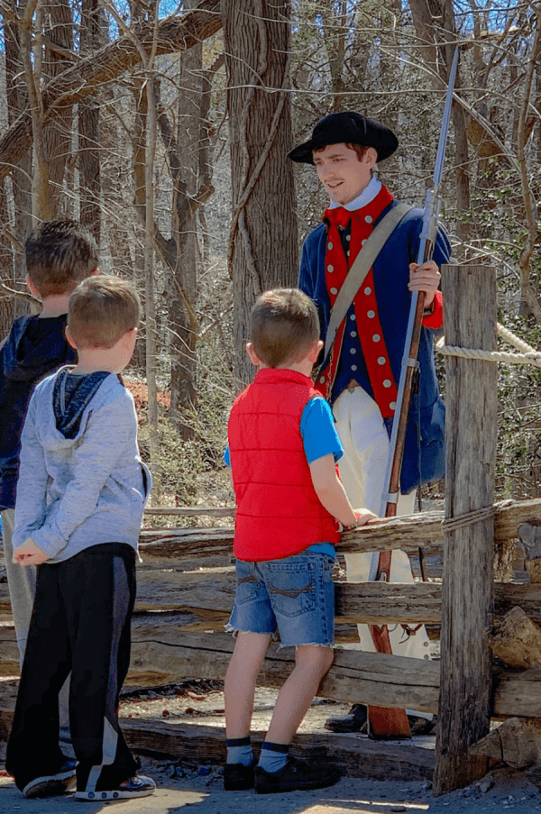 Jamestown Settlement Historical Reenactment