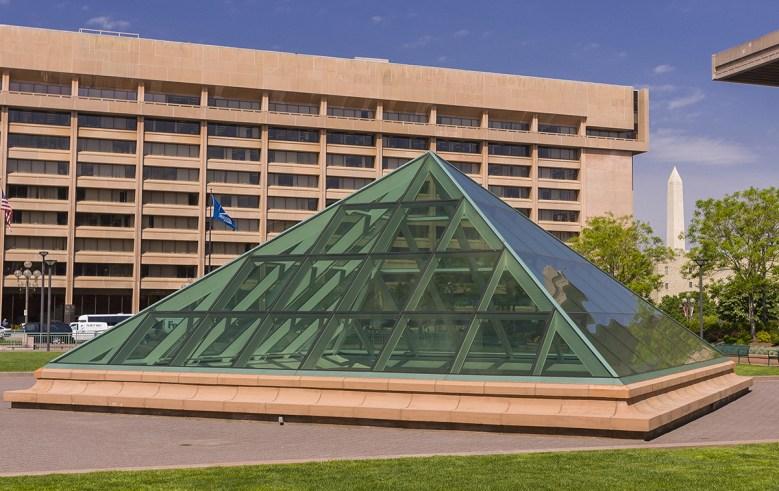 Architect I.M. Pei L'Enfant Plaze Hotel Washington DC
