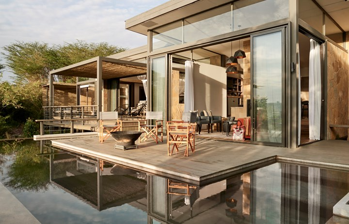 Sanctuary Retreats Olonana Lodge, Masai Mara, Kenya. Geoffrey Kent Suite