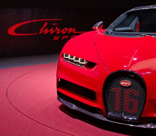 Celebrity Car Broker Bugatti Chiron Luxury Car