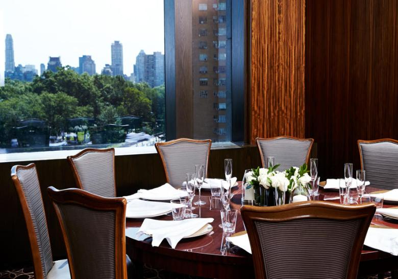 Per Se Restaurant New York dining with a view