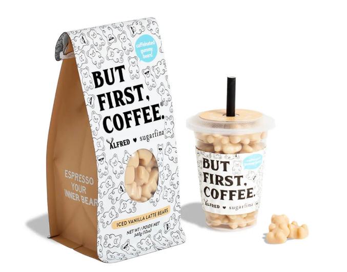 Coffee Infused gummy bears