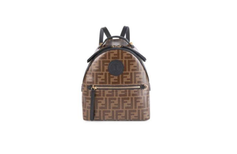 Fendi Mini Logo Backpack