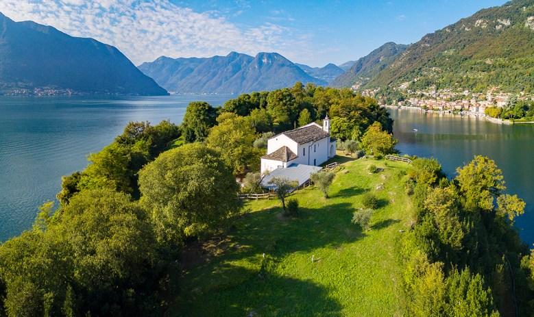 Isola Comacina Lake Como Italy