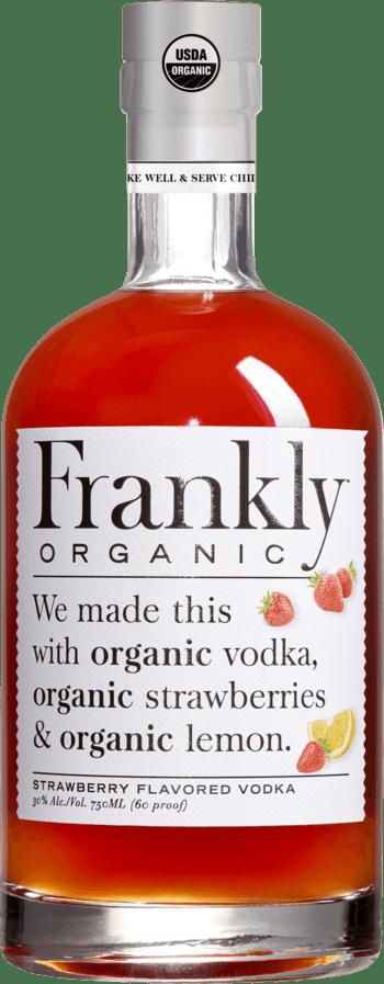 Frankly's organic vodka