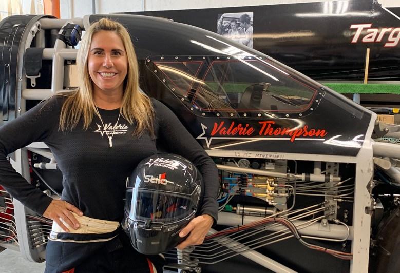 Valerie Thompson motorcycle