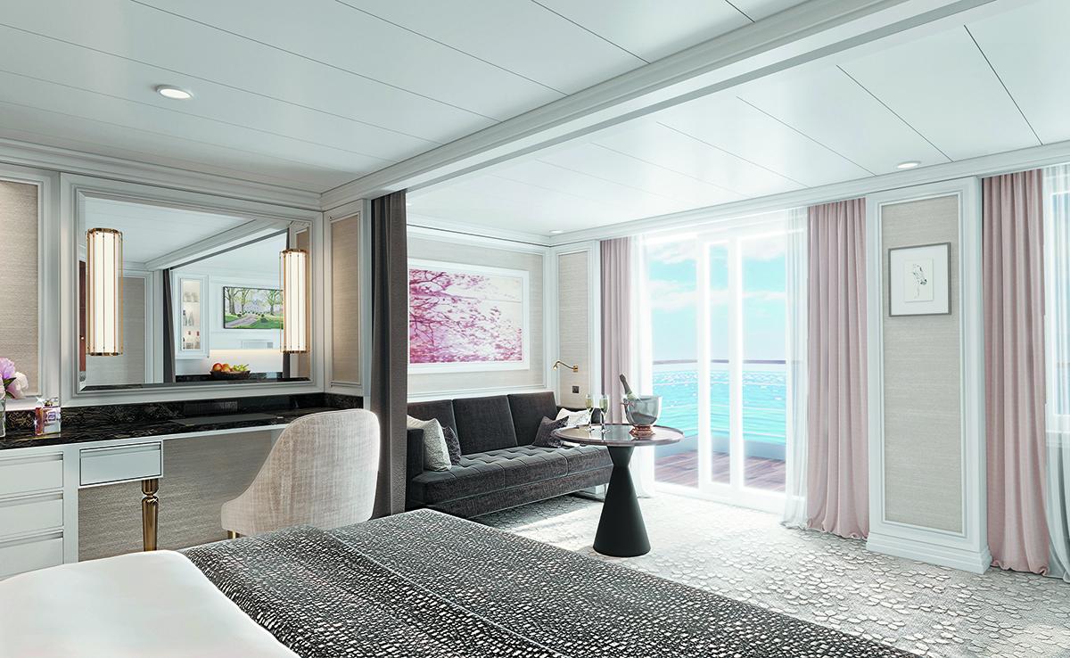 Regent Splendor Cruise Suite