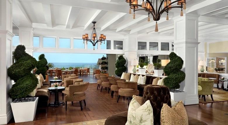 L'Auberge Resort Lobby in Del Mar
