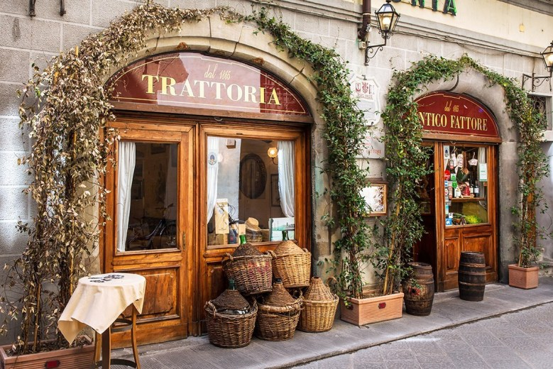 Store fronts Florence Italy