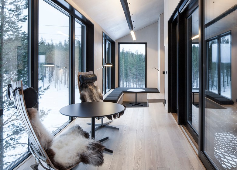 the seventh room treehouse hotel Sweden