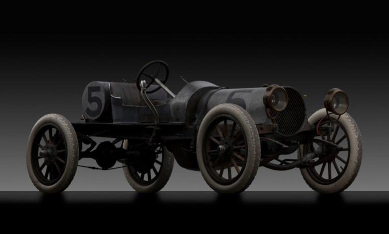 1911 Franklin Model D race car