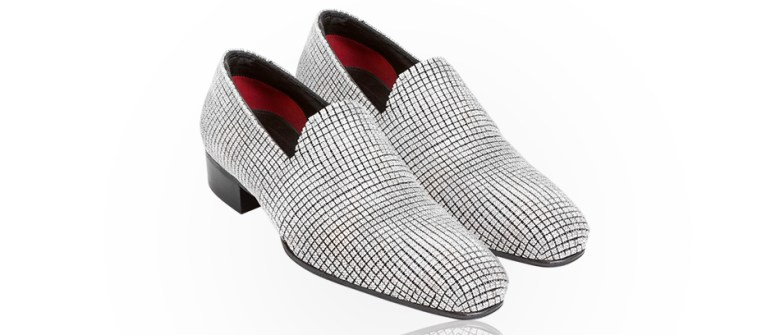 Jason Arasheben diamond shoes for Nick Cannon