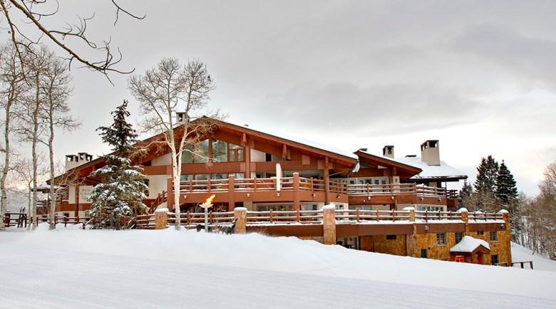 Luxury ski resort Stein Erickson resort