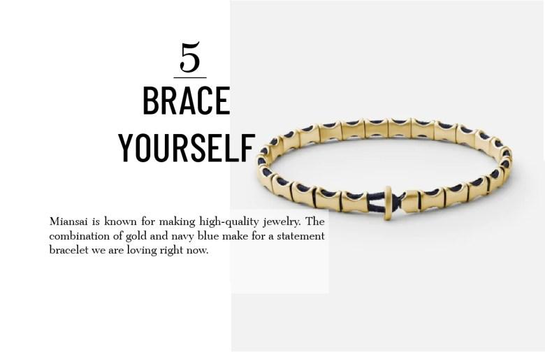 Miansai bracelet men's holiday gift