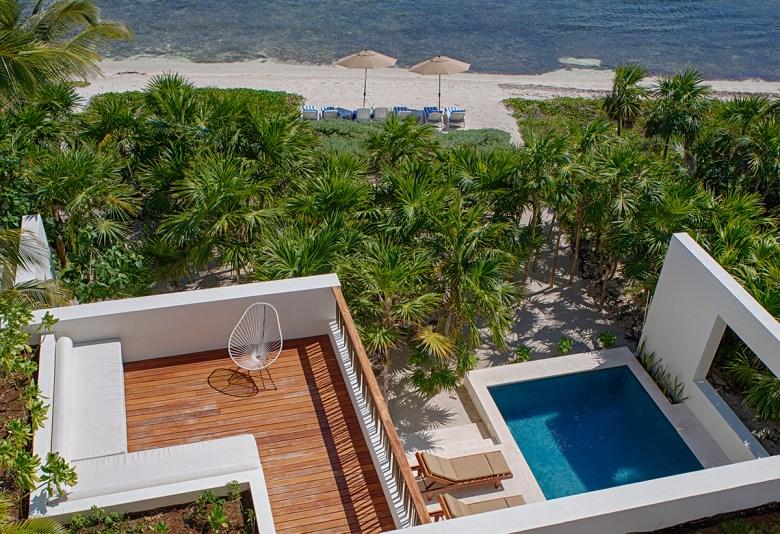 Modern Yucatan Peninsula Mexico Home
